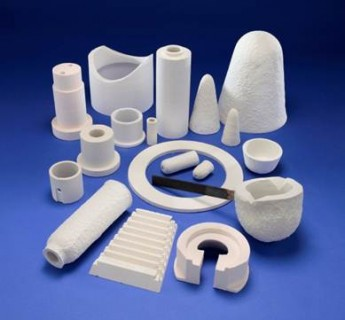 cavuum formed refractory ceramic fiber parts