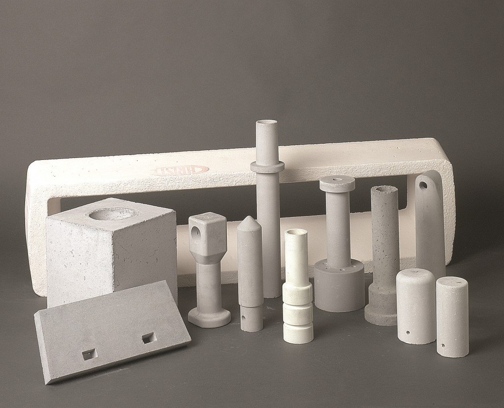 small precast refractory parts