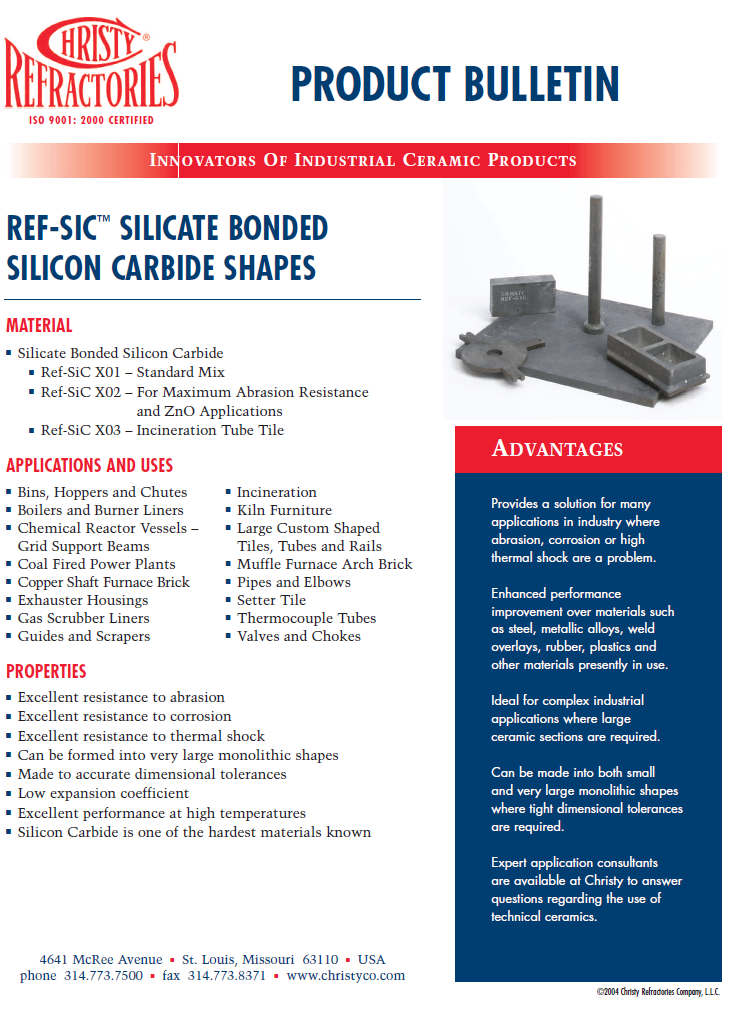 silicon carbide product bulletins 3